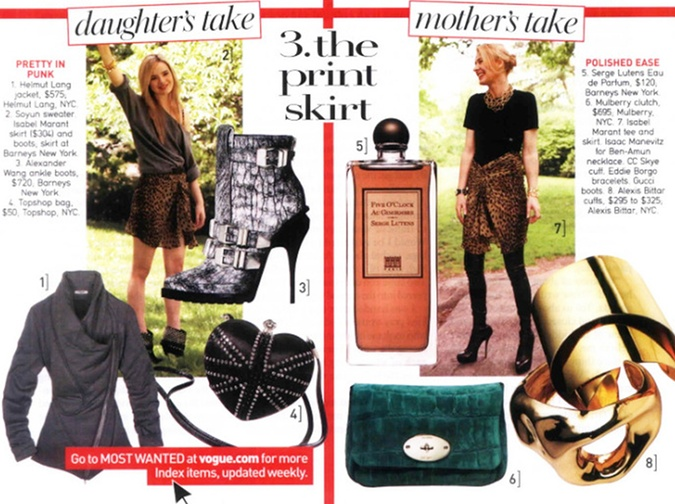 Jane Aldridge in US Vogue