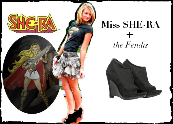 Miss She-ra and the Fendis