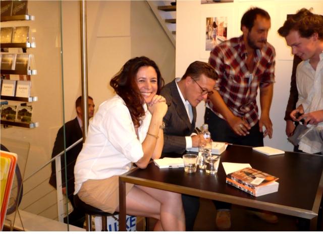 Garance at he Sartorialist book signing