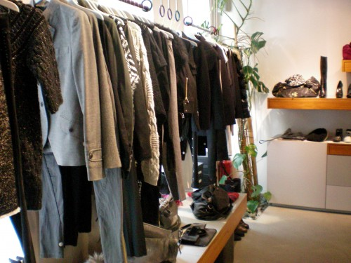 Inside the SHINE boutique