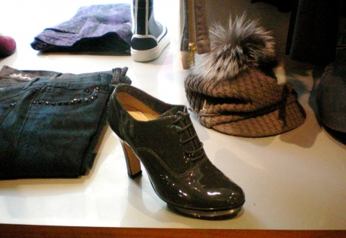Repetto booties at the SHINE boutique
