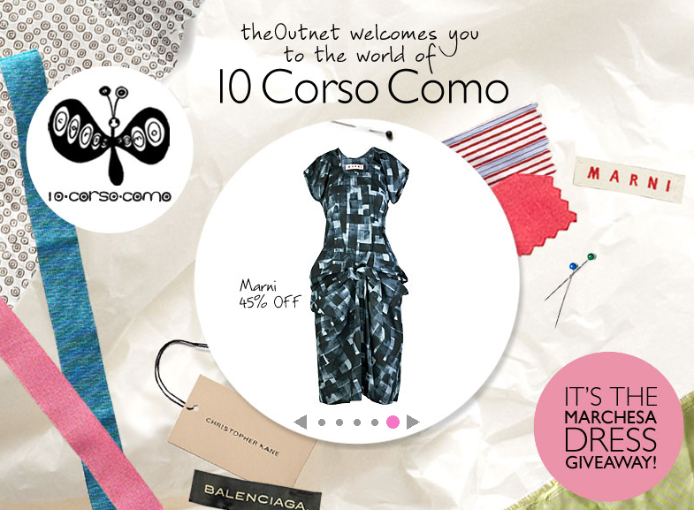 10 Corso Como joins The Outnet