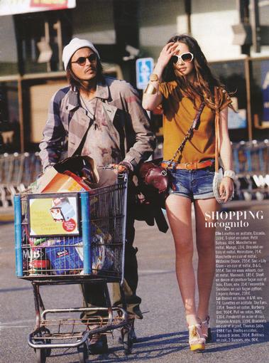 shopping incognito