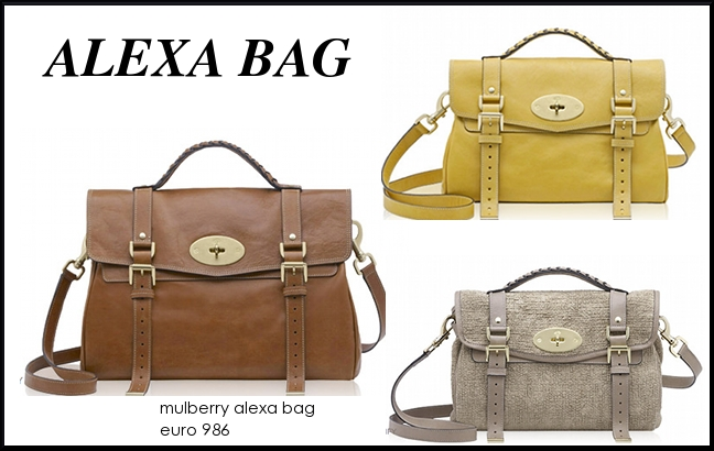 mulberry alexa bag