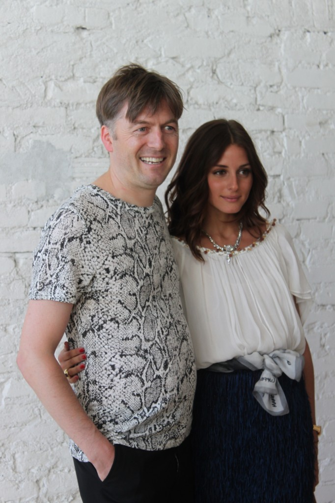 Markus Lupfer and Olivia Palermo at SoHo house Berlin