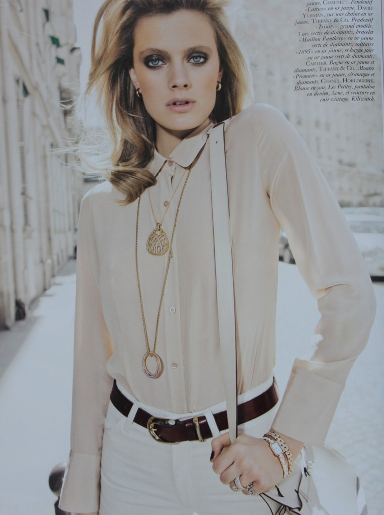 Jewelry editorial Vogue Paris July 2010