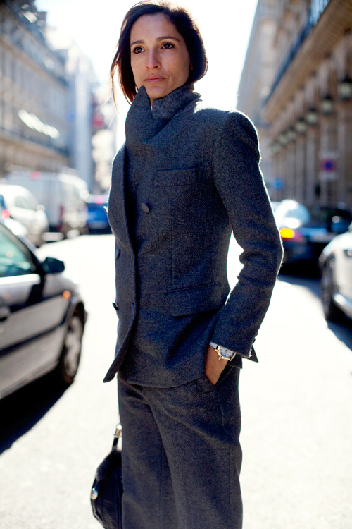 grey suit the sartorialist