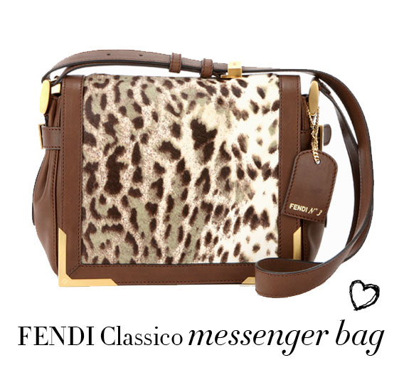 fendi messenger bag leopard