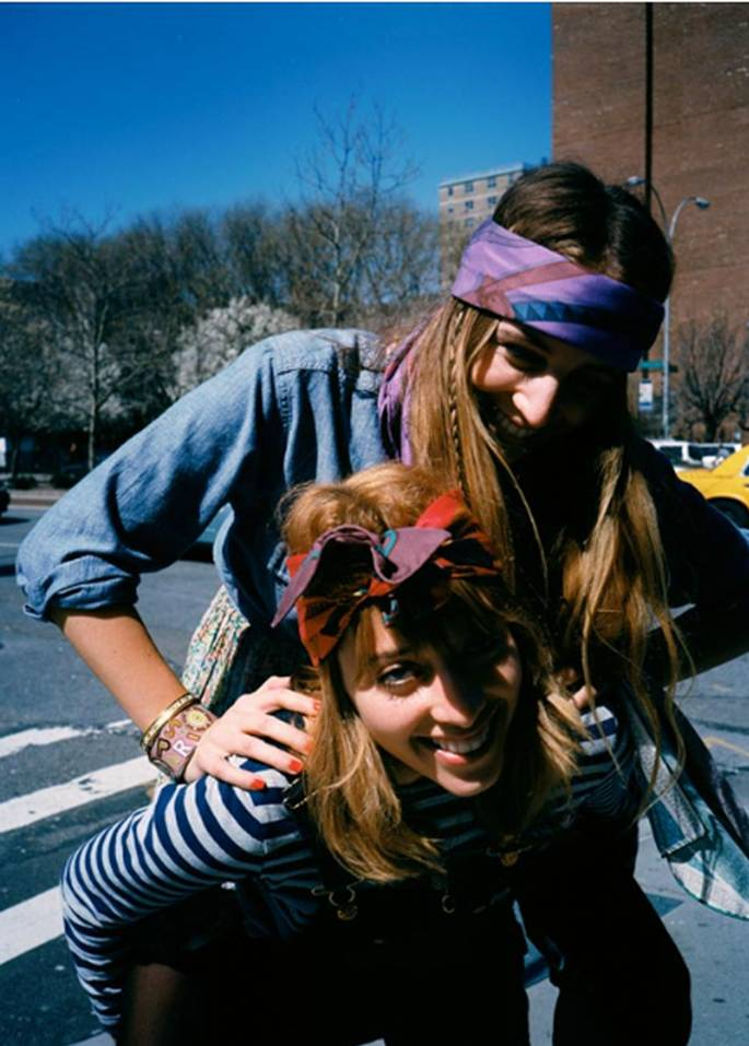 new york two girls