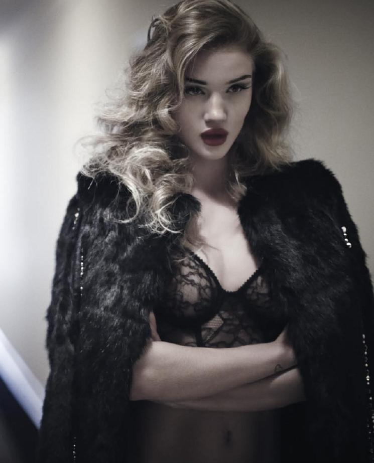 ROSIE HUNTINGTON-WHITELEY BY RANKIN