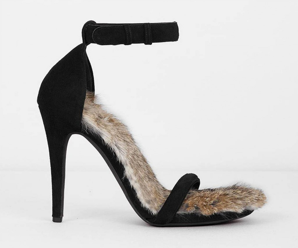 Céline F/W 2010 fur sandal