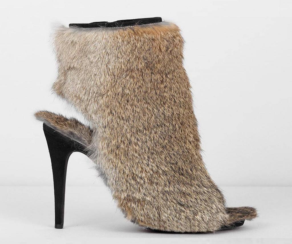 Céline F/W 2010 fur bootie