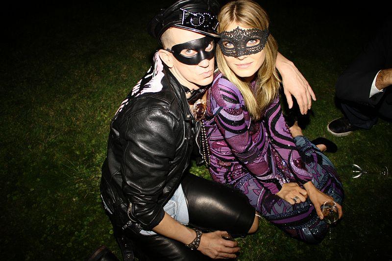 Vogue paris masquerade ball