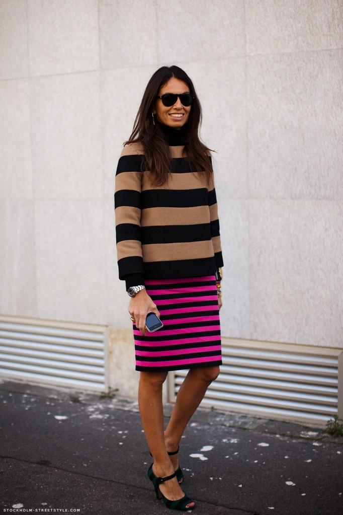 viviana volpicella_striped outfit