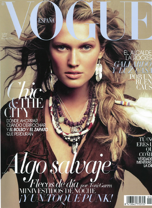 vogue spain cover april 2011