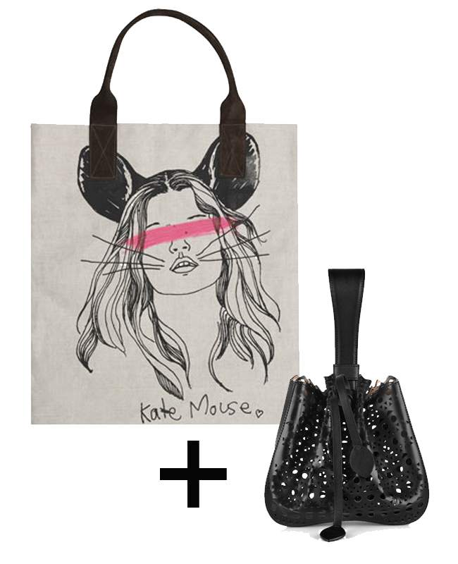 kate mouse bag_alaia wristlet