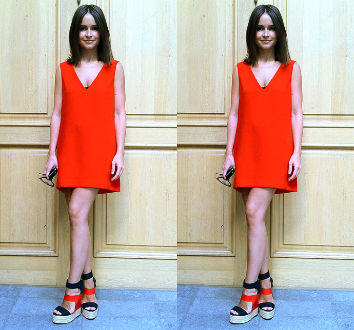 zara dress_pierre hardy shoes